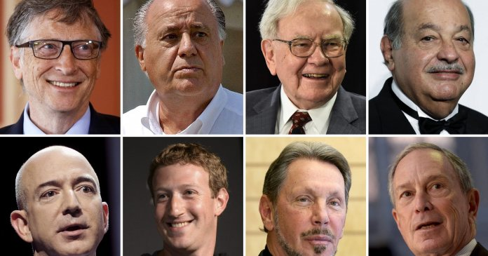 Image of richest persons