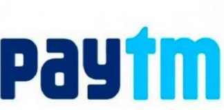 Logo of Paytm