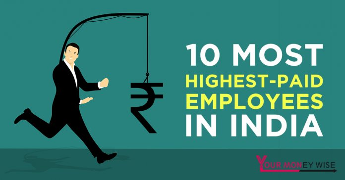 10 highest paid employees