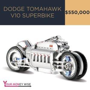 Dodge Tomahawk V10 Superbike – $550,000