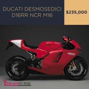 Ducati Testa Stretta NCR Macchia Nera – $225,000