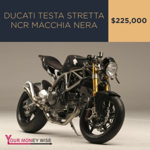 Ducati Testa Stretta NCR Macchia Nera