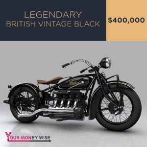 Legendary British Vintage Black – $400,000