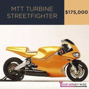 MTT Turbine Streetfighter – $175,000