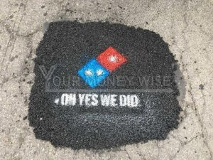Dominos paving