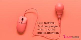Few creative add campaigns