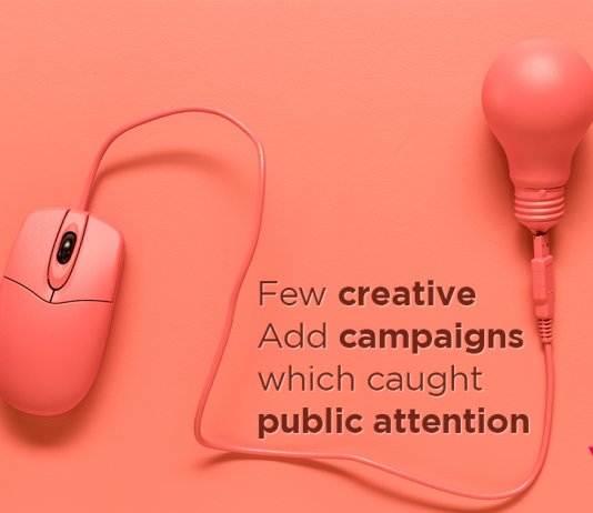 Few creative add campaigns
