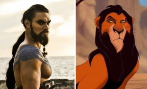 Khal Drogo vs. Scar from The Lion King