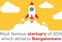 Most famous Startup's of 2019 which attracts Bangaloreans