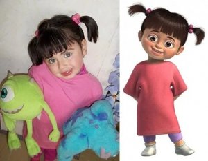 The little girl Boo from Monsters, Inc.