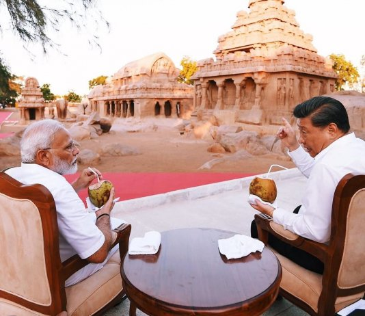 Indian Prime Minister and China President