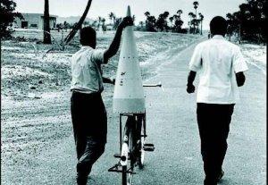Fist rocket of isro