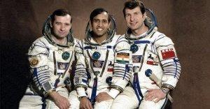 Indian astronaut Rakesh Sharma