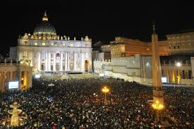 MIDNIGHT MASS, THE VATICAN, ITALY