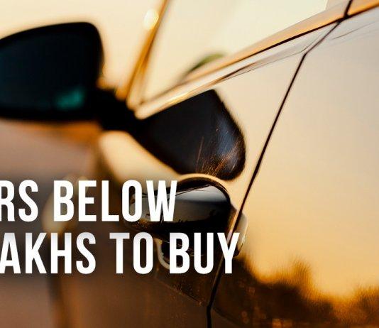 Cars below 5 lakhs to buy
