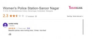 Funny review to police station