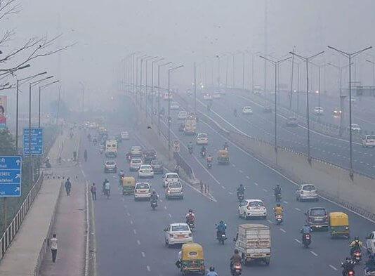 delhi Pollutuon