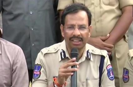 Police Press Meet on Hyderabad Rape Case