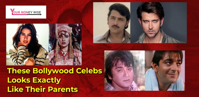 Bollywood Celebs Looks Exactly Like Their Parents