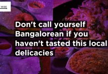 Bangalore special food