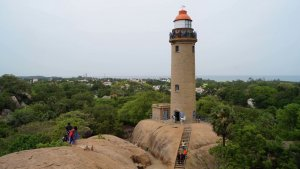 Mahabalipuram or Mamallapuram Lighthouse