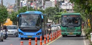 bus lanes bangalore