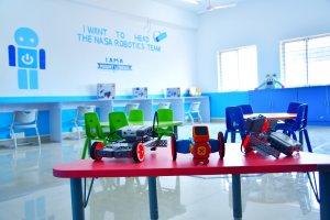 Robotics lab at Mount Litera Zee School , Kalaburagi