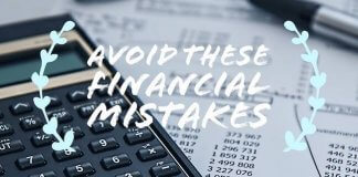 mistakes in finances